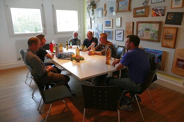 Jodlerklub Lauenen in der Pause